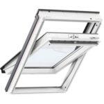 Вікно мансардне VELUX GLU 0051 Стандарт Біле ручка верх