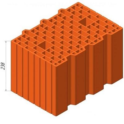 Блок Керамейя 38 нф 11.6 поризований керамічний купити у хмельницькому