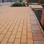 тротуарна бруківка керамейя янтар