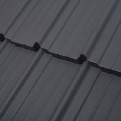 Сіра металочерепиця Мадера 7024 7016